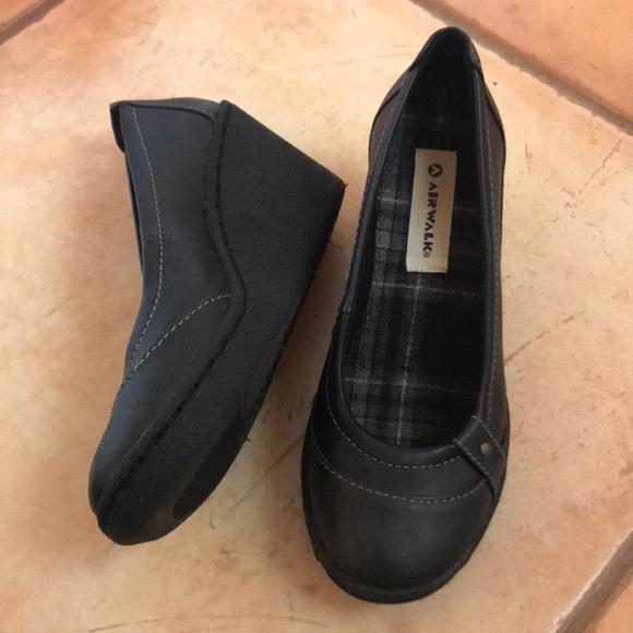 Airwalk Shoes - AIRWALK Wedges - Black 6e3ac9e63474